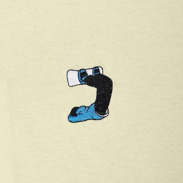 Ski t-shirt - Scorpion Tee - Yellow - Unisex