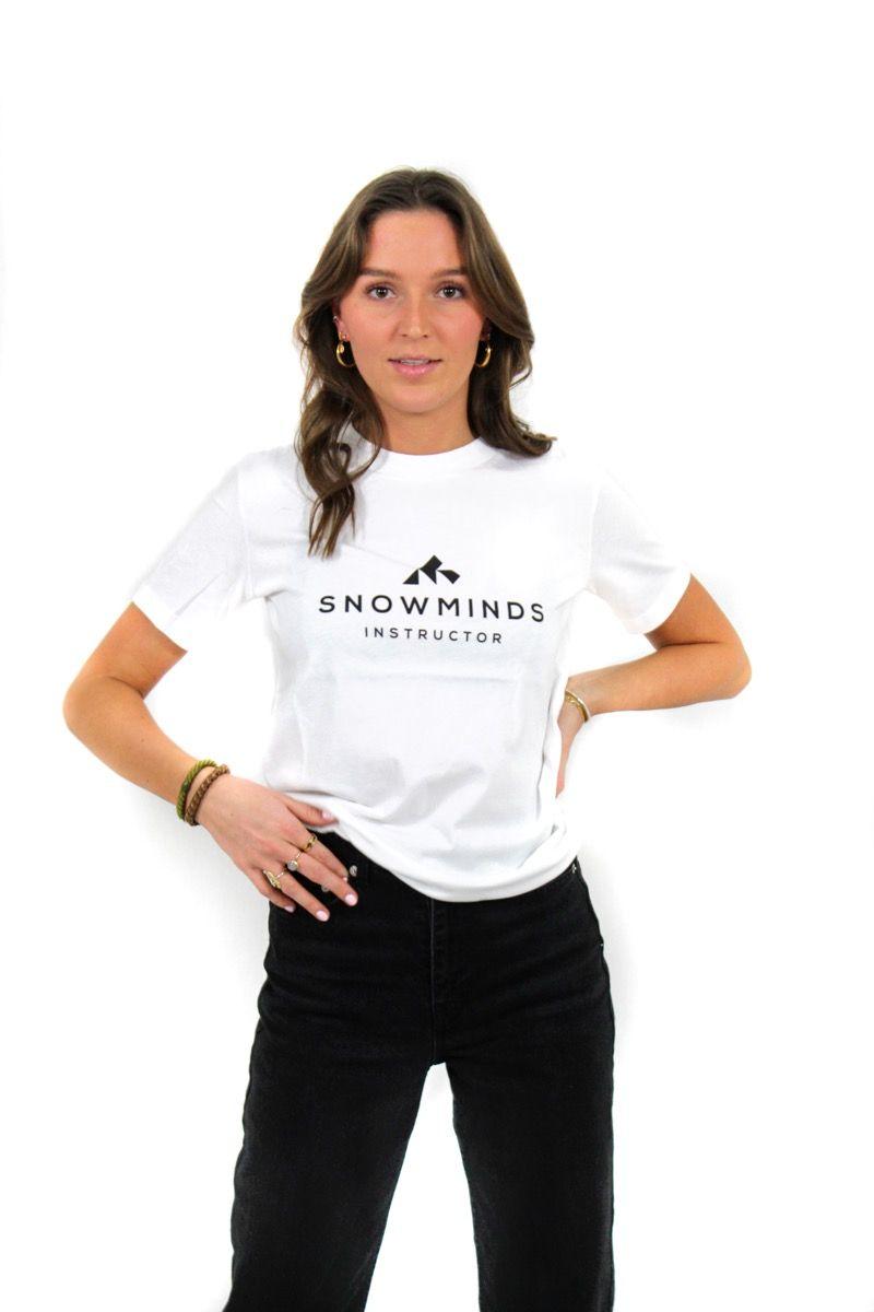 Ski t-shirt - Instructor Tee - White - W