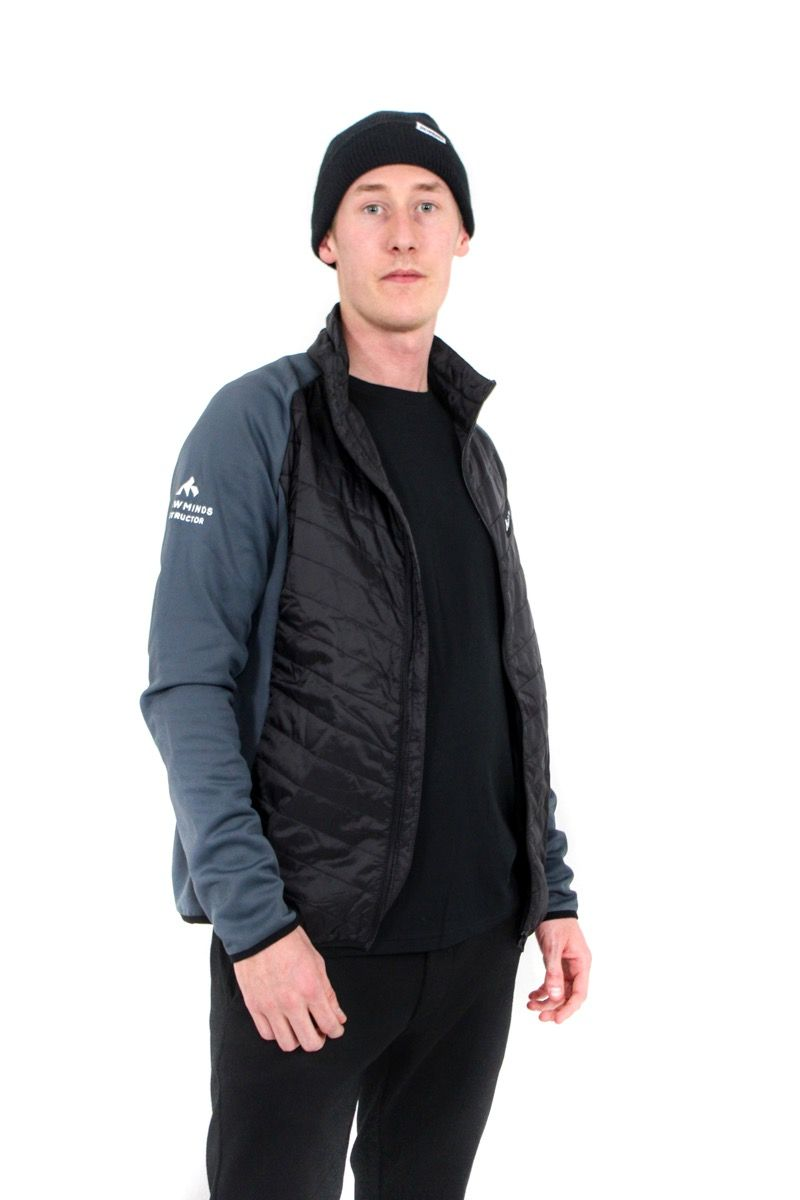 Snowminds Instructor Midlayer - Grey/Black - Unisex